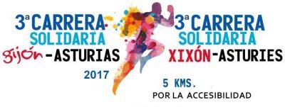 """""""Carrera Solidaria Asturias"""" por la accesibilidad - Gijón"""