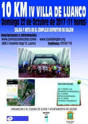 10 Km Villa de Luanco