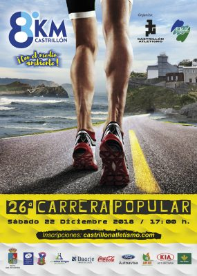 "Carrera Popular ""8 Km Castrillón"""