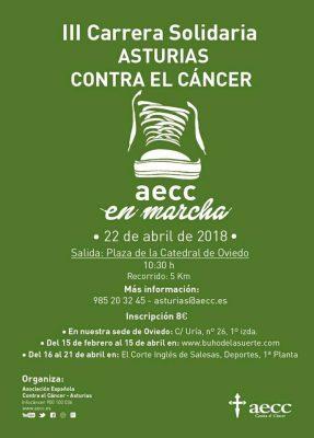 Carrera Solidaria Asturias contra el Cáncer, AECC en marcha