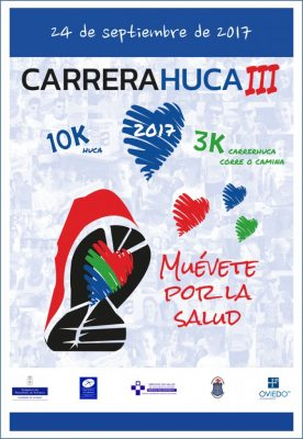 """Carrera HUCA """"Muévete por la Salud"""" 3K"""