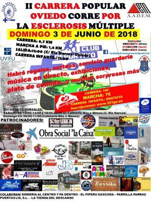 Carrera Popular Oviedo corre por la esclerosis múltiple