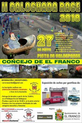El Franco Galochada Race