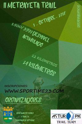 Trail Metrayeta - Yernes y Tameza - 12km