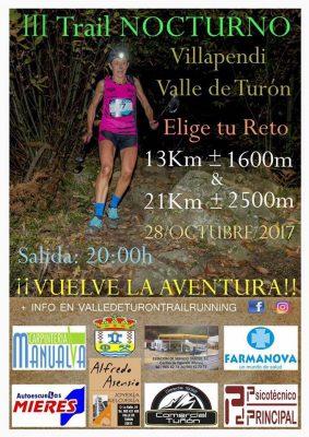 Trail Nocturno Villapendi – Valle de Turón - 13Km