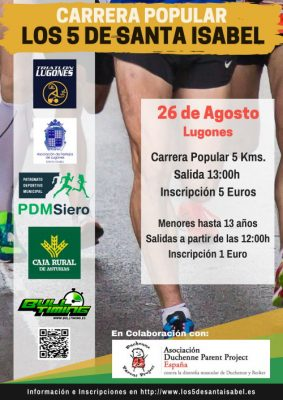 "Carrera Popular ""Los 5 de Santa Isabel"""