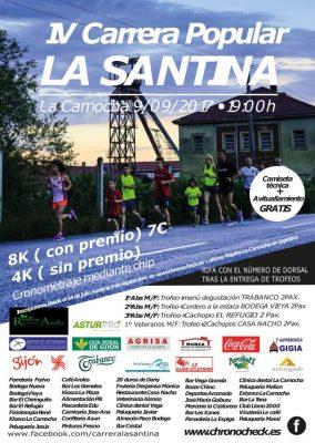 """Carrera popular """"La Santina"""""""