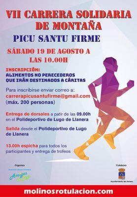 """Carrera de Montaña """"Subida al Picu Santu Firme"""""""