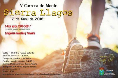 """Carrera de monte """"Sierra Llagos"""""""