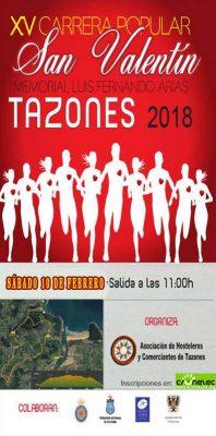 "Carrera Popular ""San Valentín Tazones"""