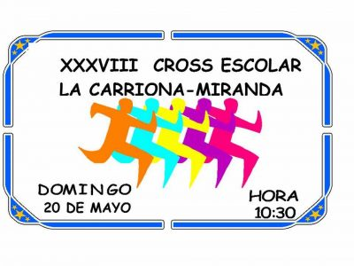 Cross Escolar La Carriona - Miranda