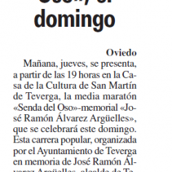 """Fotos Media Maratón """"Senda del Oso"""""""