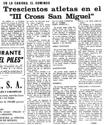Cross San Miguel - La Caridad 1972