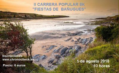Carrera Popular 8K Fiestas de Bañugues