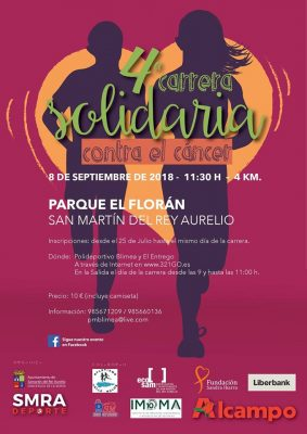 Carrera Solidaria Contra el Cáncer SMRA