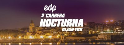 "Carrera Nocturna ""Gijón 10K"""