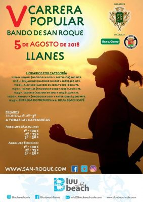 "Carrera Popular ""Bando de San Roque"""