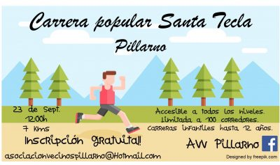 "Carrera Popular ""Santa Tecla"" - Pillarno"