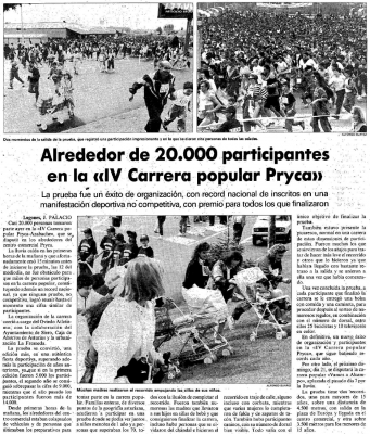 Carrera Popular Pryca 1992