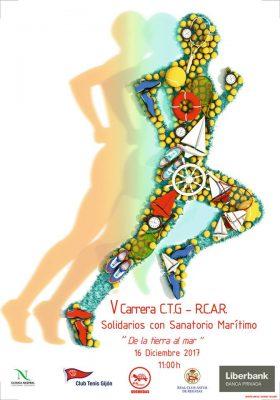 Carrera Solidaria Club de Tenis Gijón-Real Club Astur de Regatas