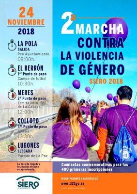 Marcha contra la Violencia de Género de Siero