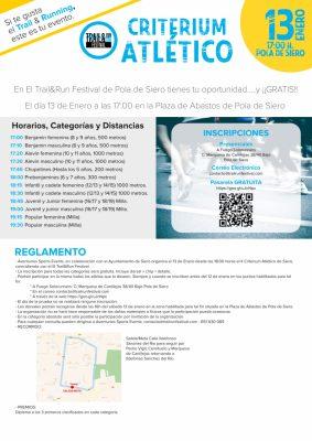 Criterium Atlético Siero - Trail & Run Festival