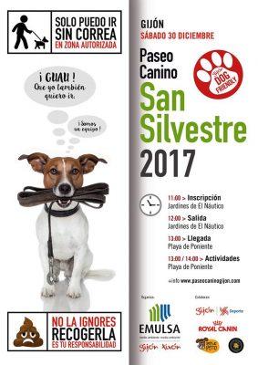 Paseo Canino San Silvestre Gijón