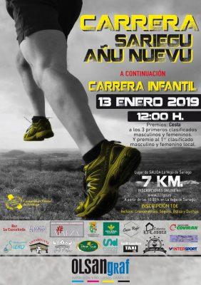 Carrera Añu Nuevu - Sariegu