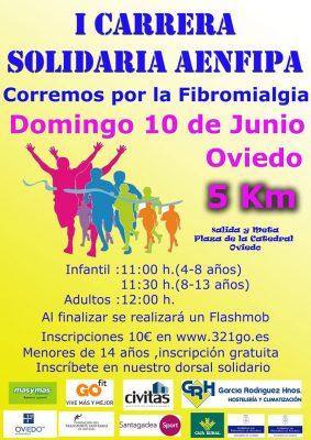 Carrera Solidaria AENFIPA por la Fibromialgia y Fatiga Crónica