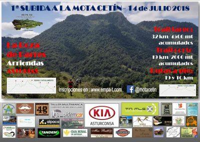 Subida a la Mota Cetín - Trail Corto