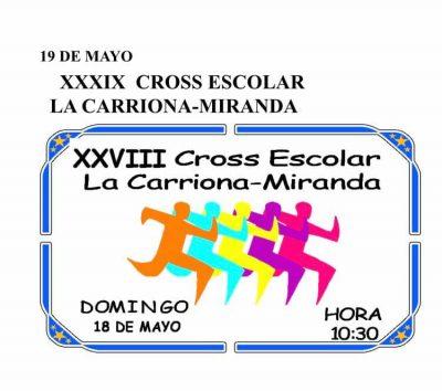 Cross Escolar La Carriona - Miranda