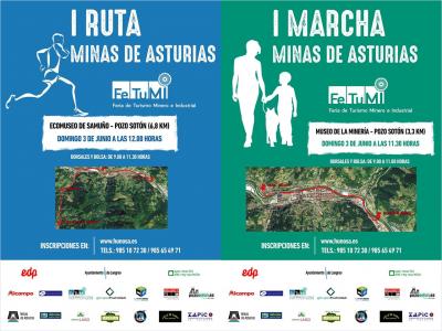 Carrera Ruta Minas de Asturias - FETUMI