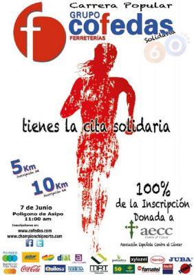 Carrera Popular Solidaria COFEDAS 5km y 10km
