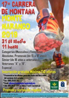 Carrera Montaña Monte Naranco