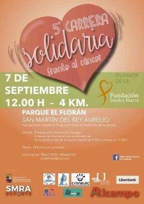 Carrera Solidaria Frente al Cáncer SMRA