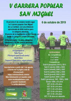 Carrera Popular San Miguel - La Caridad
