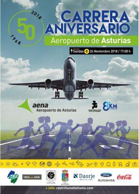 Carrera 50 Aniversario Aeropuerto de Asturias
