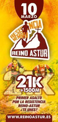 Resistencia Reino Astur - Media 21km