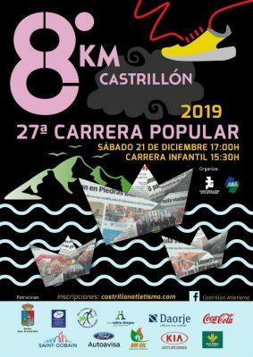 "Carrera Popular ""8 Km Castrillón"""