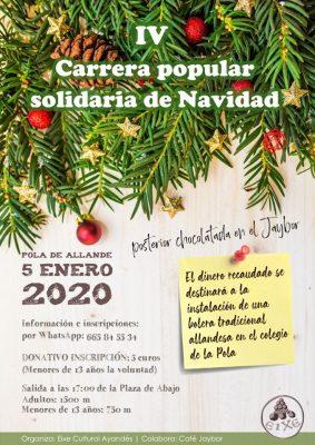 Carrera Popular Solidaria de Navidad - Pola de Allande