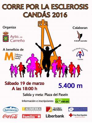 """Carrera Solidaria """"Corre por la Esclerosis"""" - Candás"""
