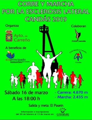Corre y Marcha por la Esclerosis Lateral - Candás