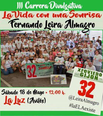 Carrera Divulgativa La Vida con una Sonrisa / Fernando Leira Almagro