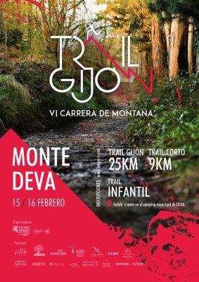 """Carrera de Montaña """"Trail Gijón"""" - Largo"""