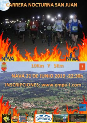 Carrera Nocturna San Juan - Nava