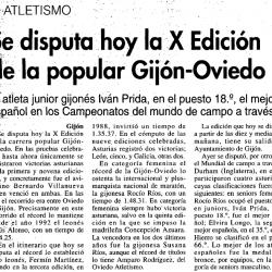 Fotos Carrera Gijón - Oviedo