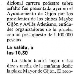Fotos Carrera Gijón - Avilés